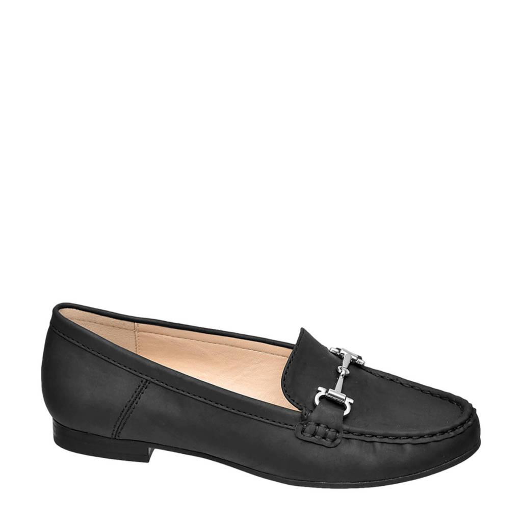Easy Street   loafers zwart, Zwart