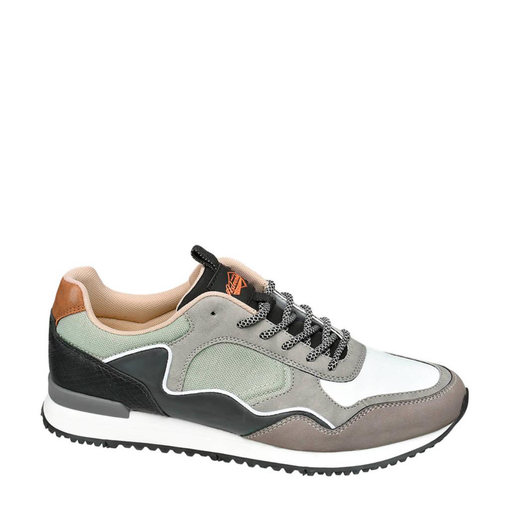 Venice   sneakers lichtgrijs, Lichtgrijs/wit