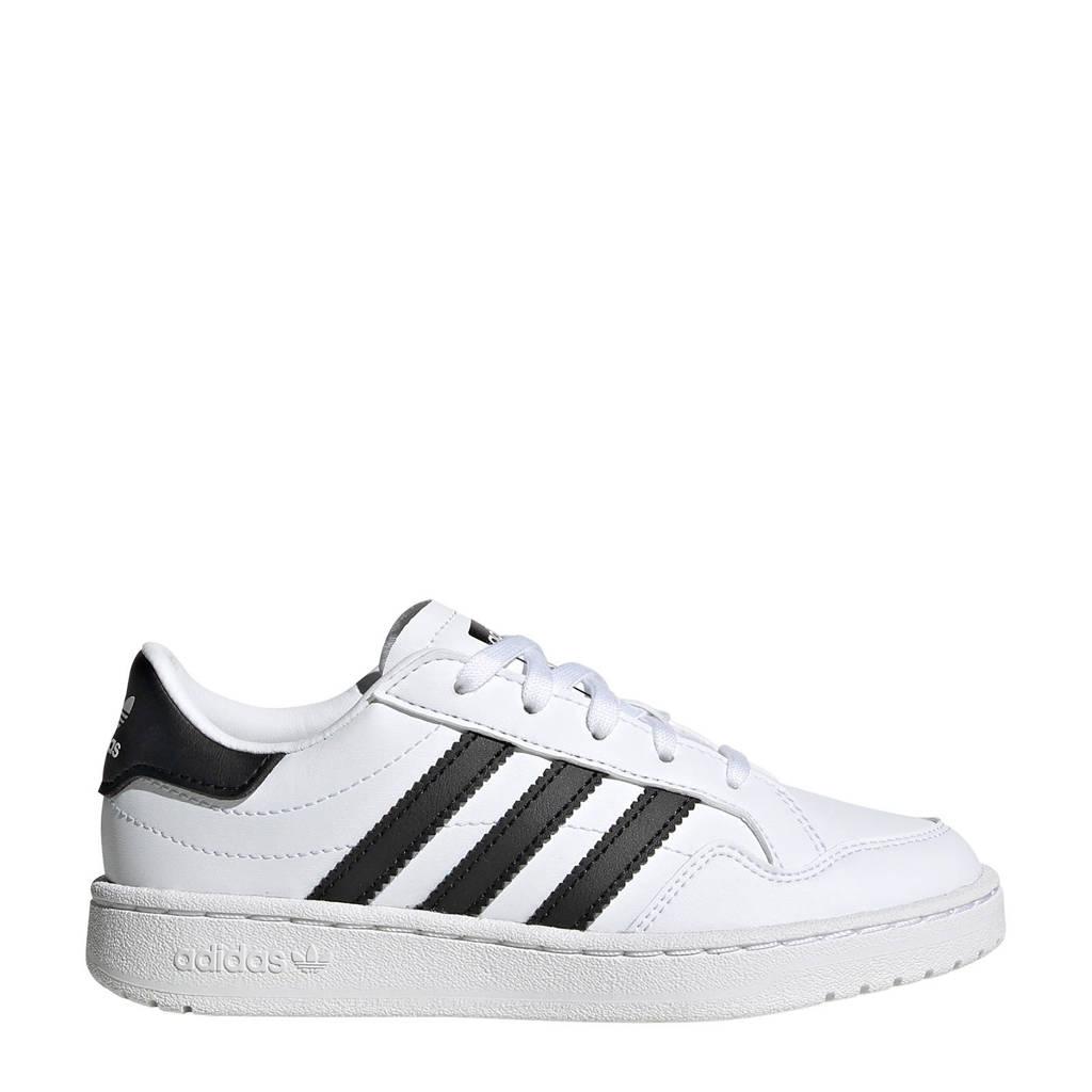 adidas Originals Team Court Kids C sneakers, Wit/zwart