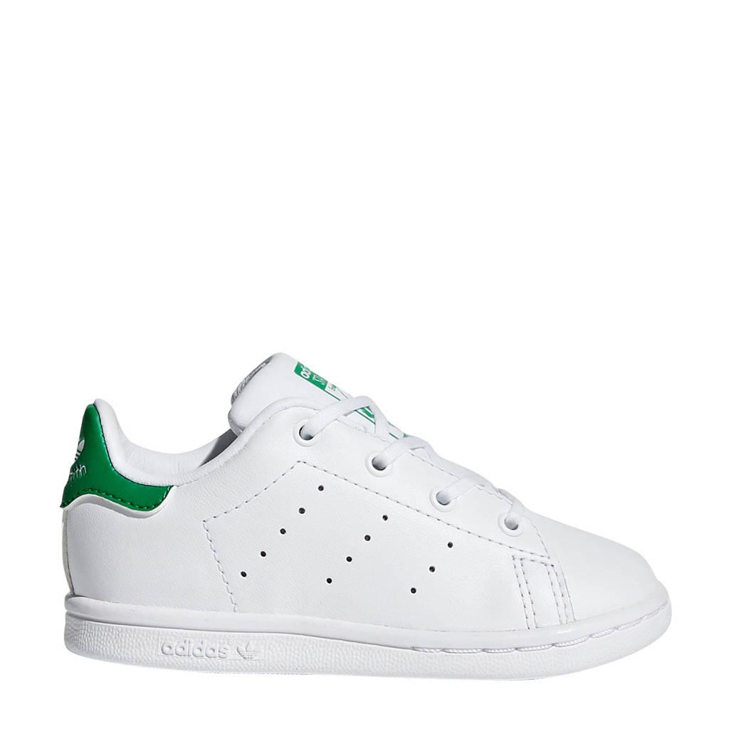 adidas Originals Stan Smith I leren sneakers wit/groen, Wit/groen
