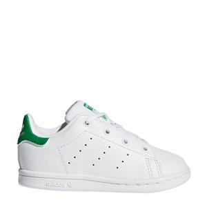 Stan Smith I leren sneakers wit/groen
