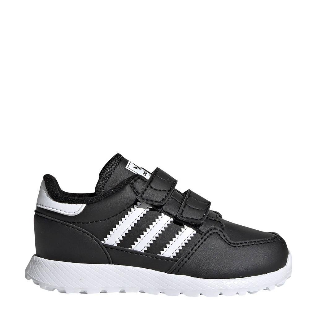 adidas Originals Forest Grove CF I leren sneakers zwart/wit, Zwart/wit