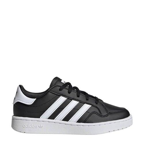 adidas Originals Team Court C sneakers zwart/wit
