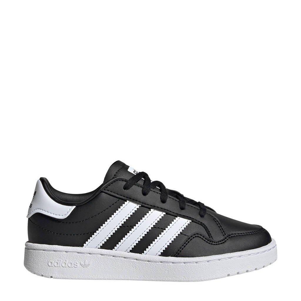 adidas Originals Team Court C sneakers zwart/wit, Zwart/wit