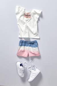 adidas Originals Stan Smith C  sneakers wit/blauw, Wit