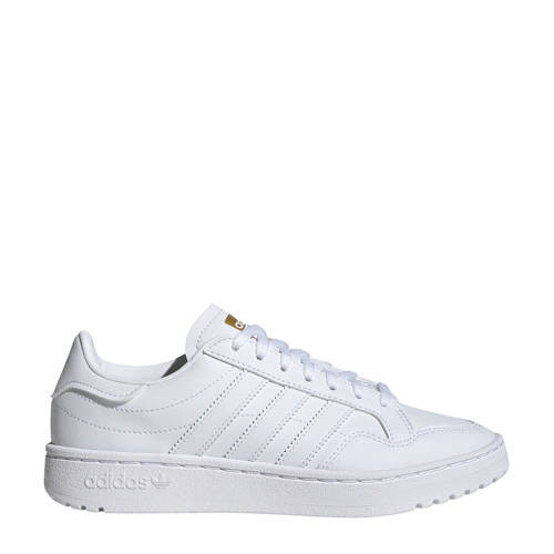 adidas Originals Team Court sneakers wit