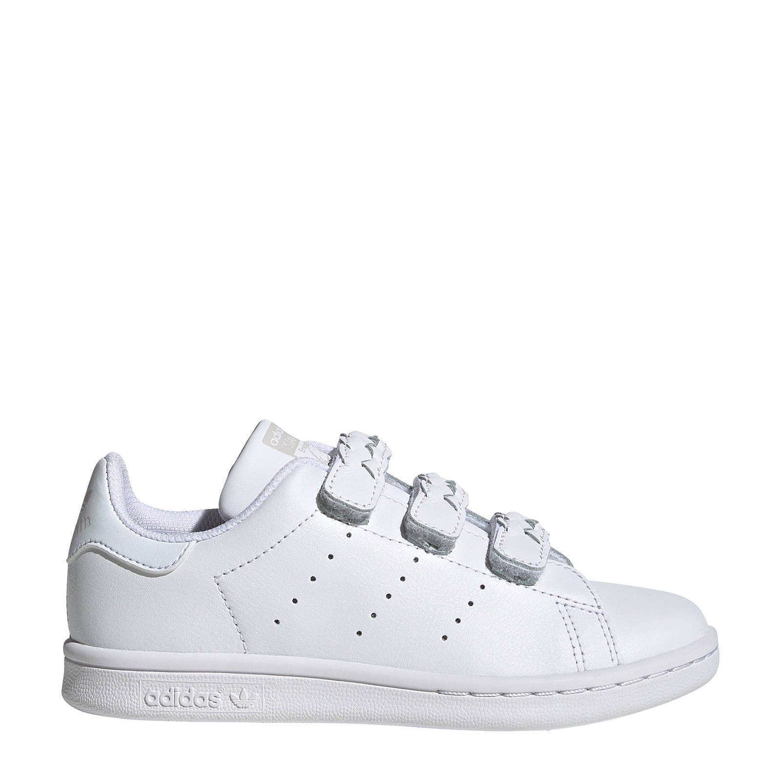 adidas Originals Stan Smith CF C leren sneakers wit | wehkamp