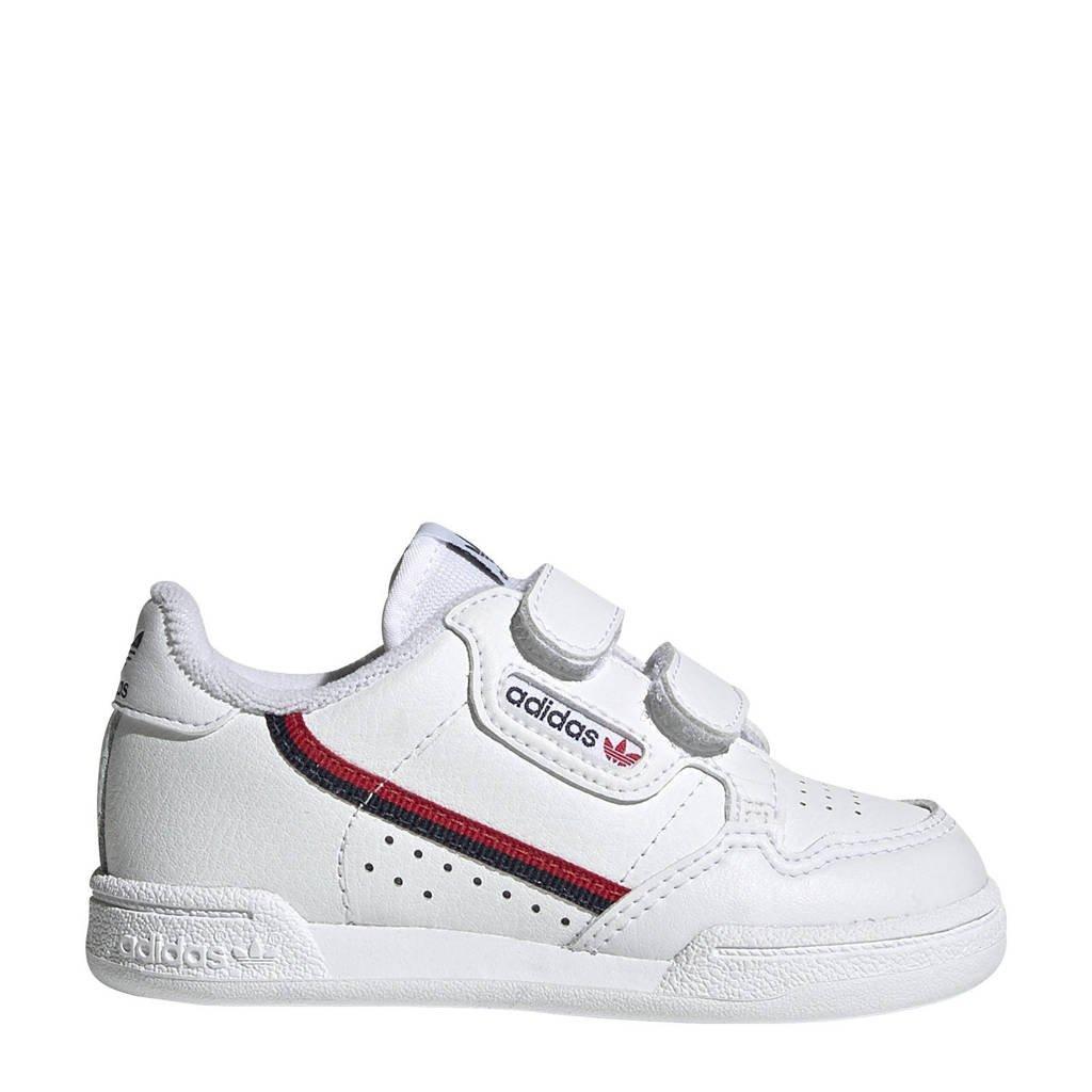 adidas originals Continental 80 CF I leren sneakers wit, Wit