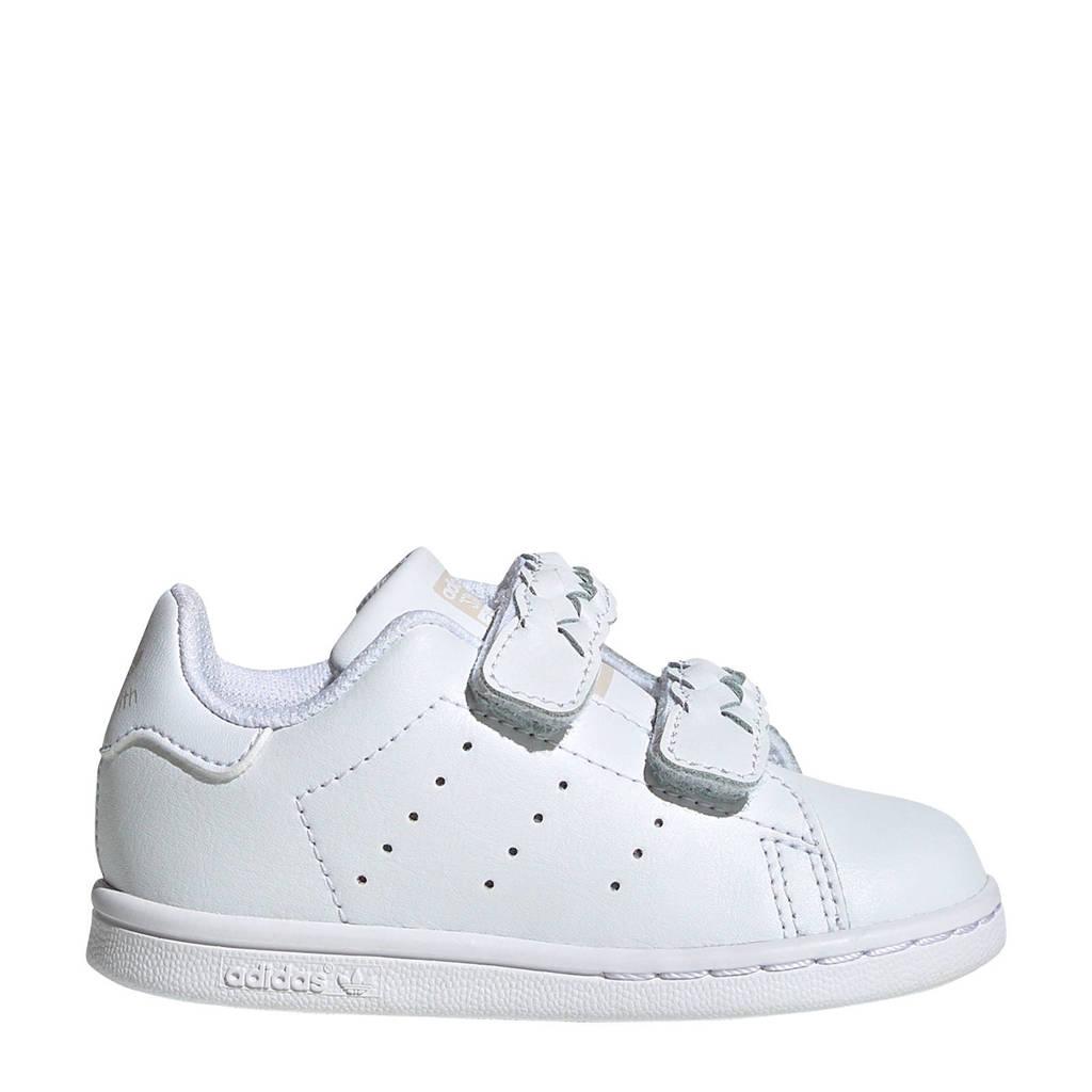 adidas Originals Stan Smith CF I leren sneakers wit/grijs, Wit/grijs