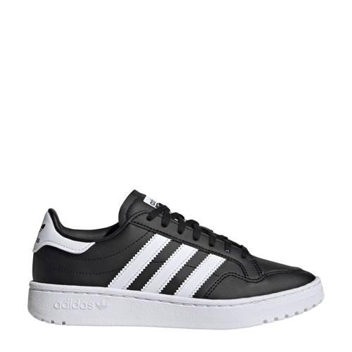 adidas Originals Team Court sneakers zwart/wit