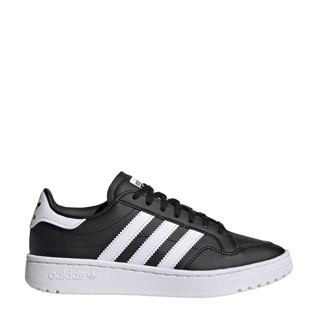 adidas Originals Team Court  sneakers zwart/wit, Zwart/wit