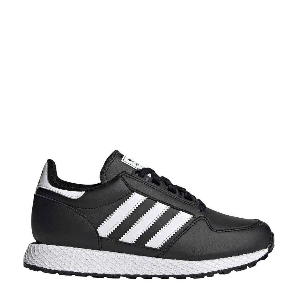 adidas Originals Forest Grove J sneakers zwart/wit, Zwart/wit