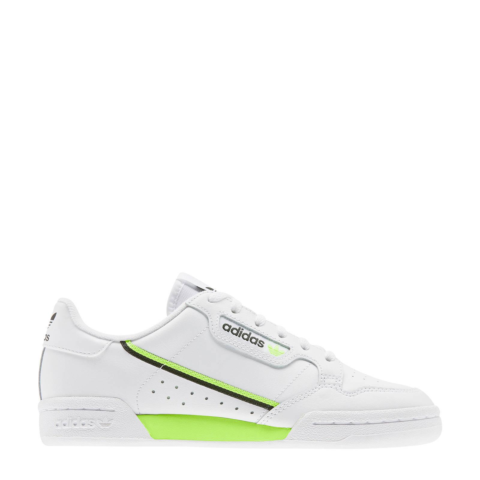 Continental 80 J sneakers wit/geel