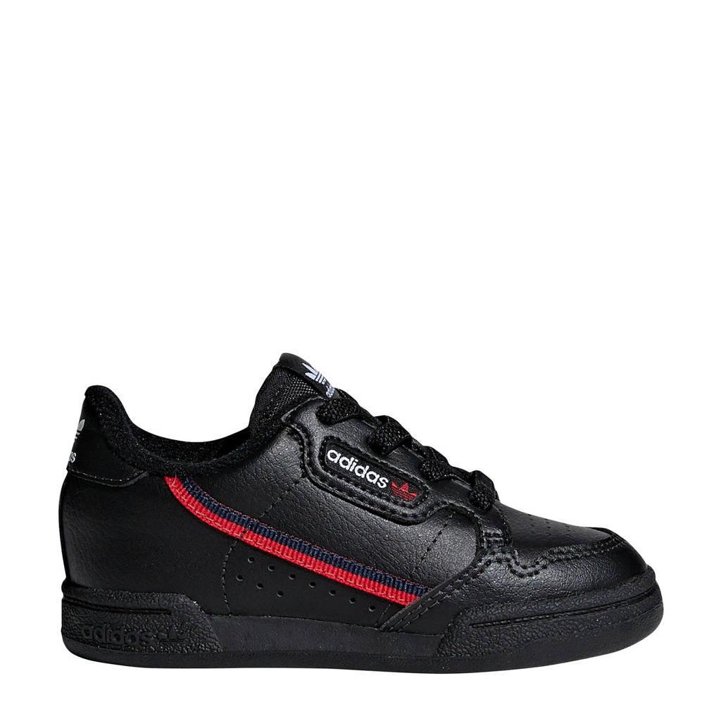 adidas Originals Continental 80 Baby EL I sneakers, Zwart/rood
