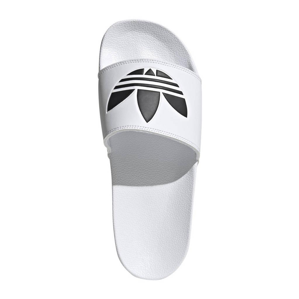 adidas Originals Adilette Lite slippers wit/zwart, Wit/zwart