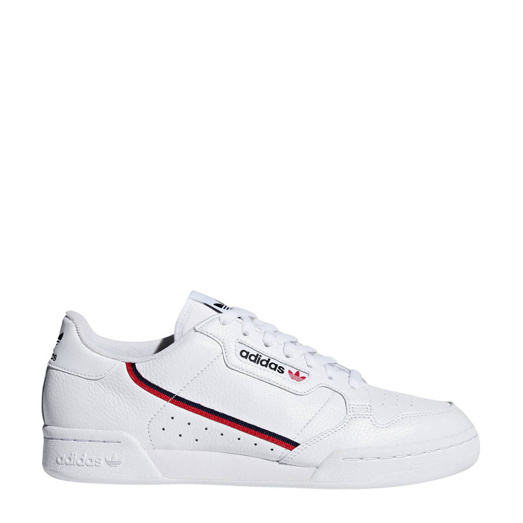 adidas Originals Continental 80  sneakers wit/donkerblauw, Wit/donkerblauw