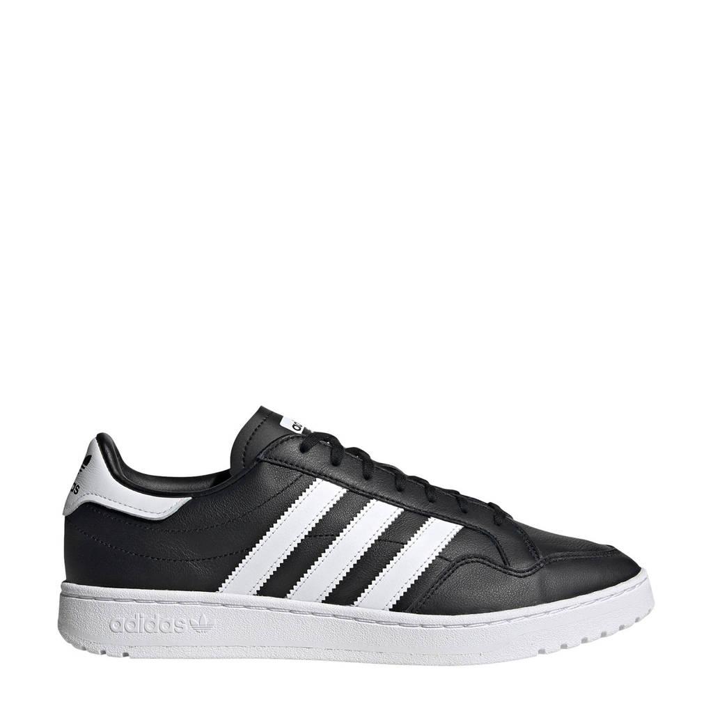 adidas Originals Team Court  sneakers zwart/wit, Zwart/wit