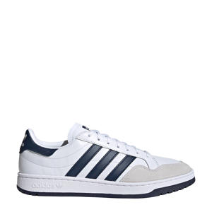 Team Court  sneakers wit/donkerblauw