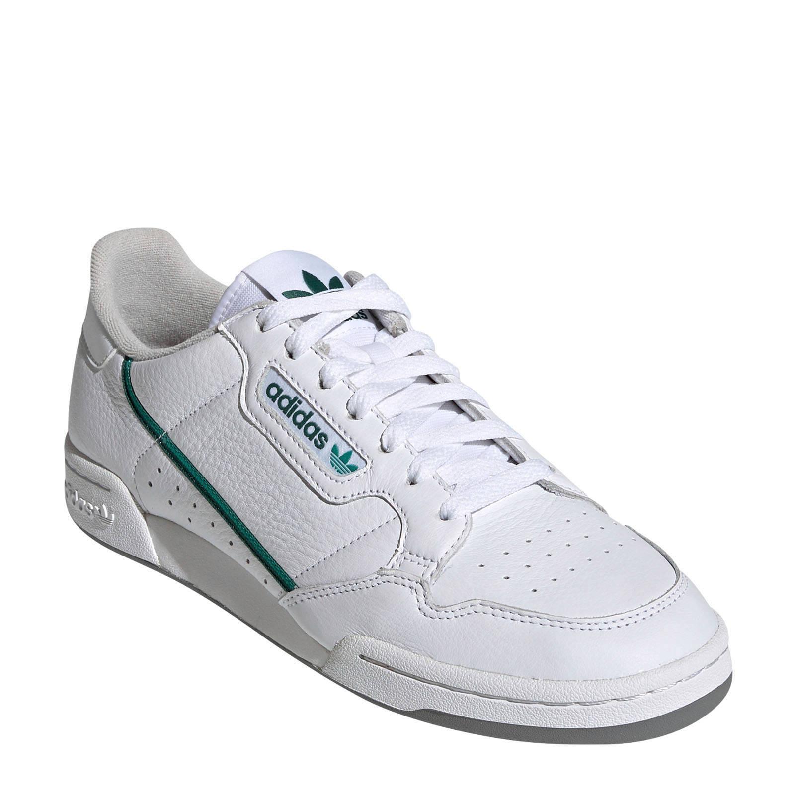 Continental 80 sneakers witgroen