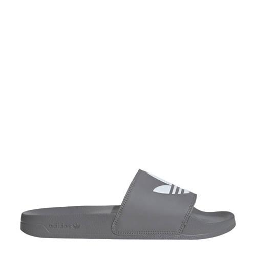 adidas Originals Adilette Lite badslippers grijs/w