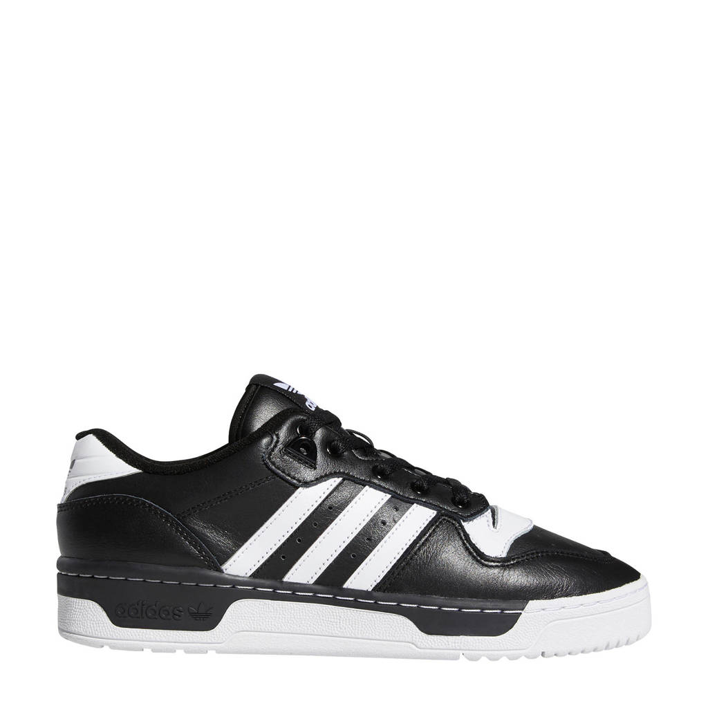adidas Originals Rivalry Low  sneakers zwart/wit, Zwart/wit