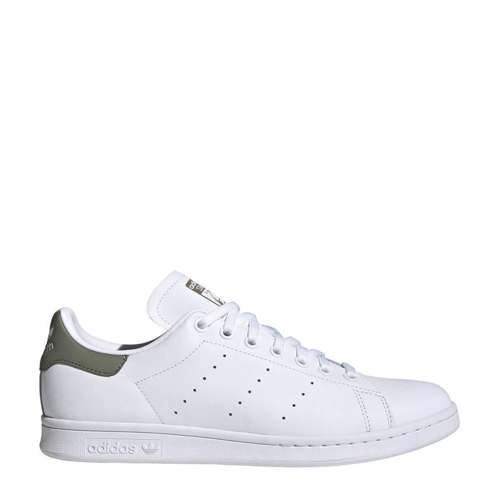 adidas Originals Stan Smith  sneakers wit/groen, wit/olijfgroen