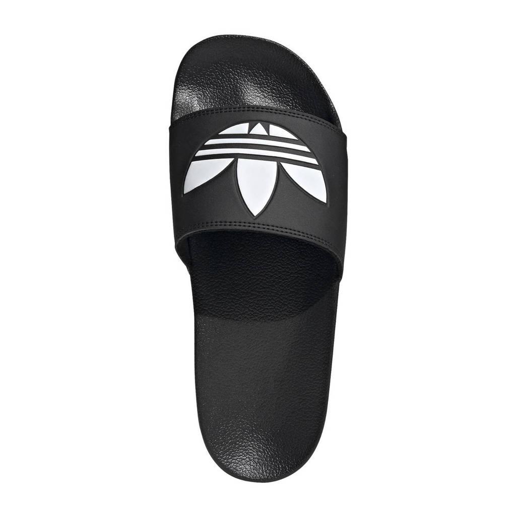 adidas Originals Adilette Lite badslippers zwart/wit, Zwart/wit