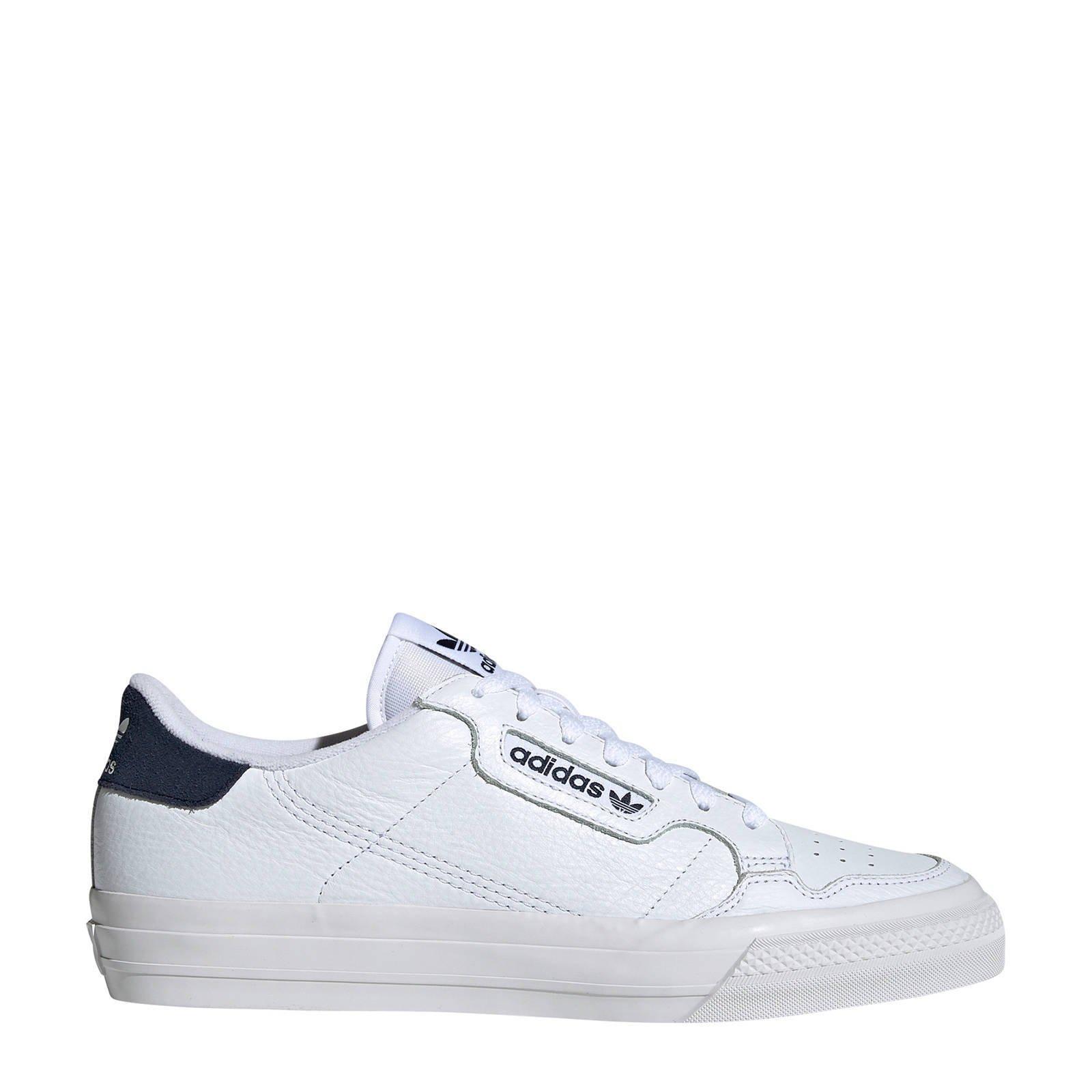 adidas Originals Continental Vulc sneakers wit | wehkamp