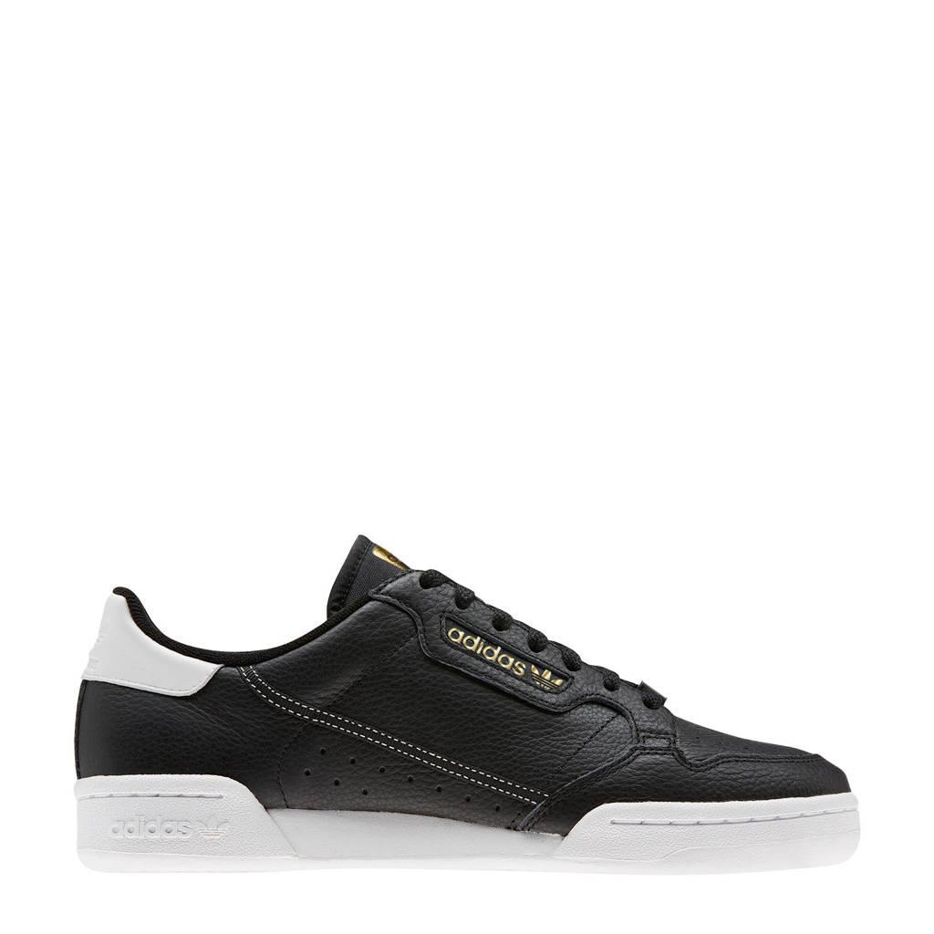 adidas Originals Continental 80  sneakers zwart/wit, Zwart/wit