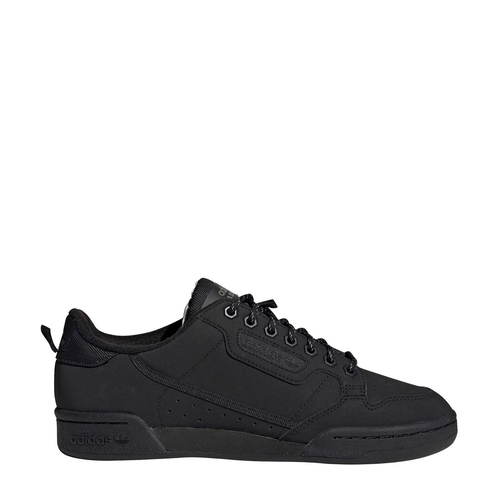 adidas Originals Continental 80 sneakers zwart | wehkamp