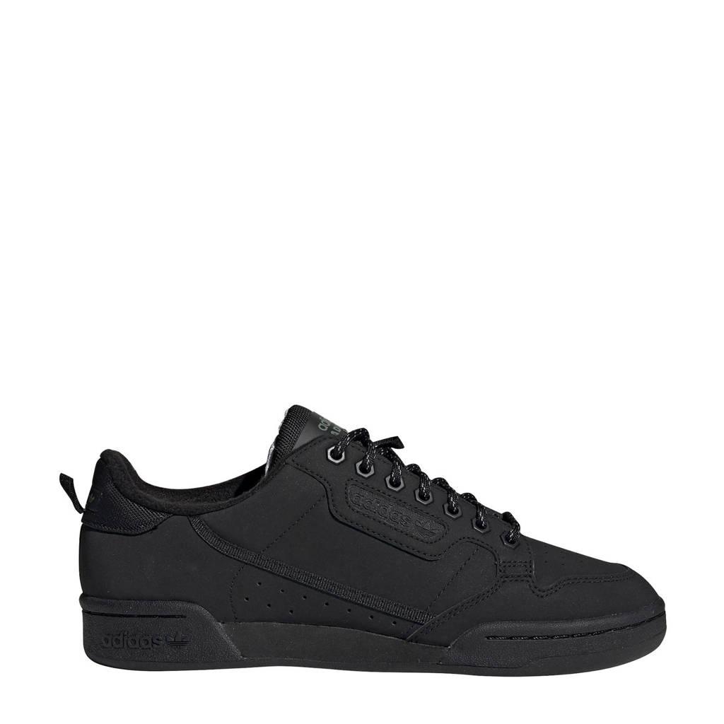 adidas Originals Continental 80  sneakers zwart, Zwart