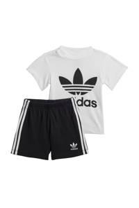adidas Originals   sportset wit/zwart, Wit/zwart