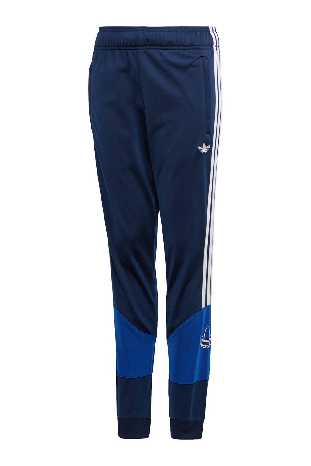 adidas Originals   trainingsbroek donkerblauw/blauw, Donkerblauw/blauw