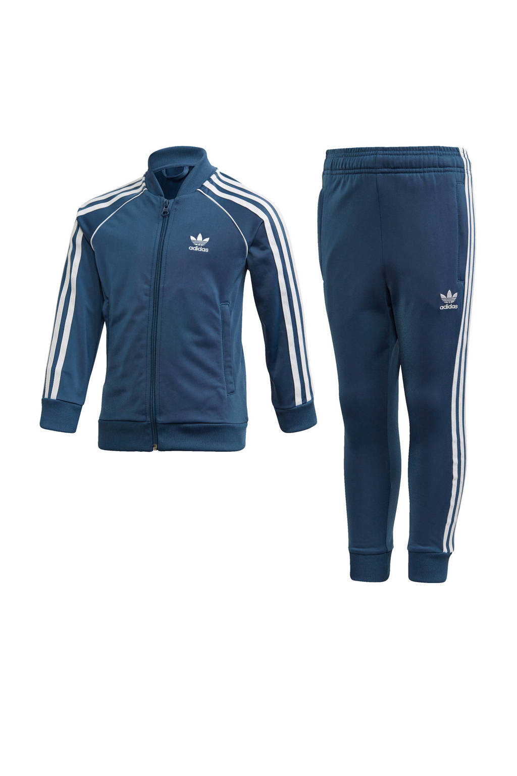 adidas Originals   trainingspak blauw, Blauw