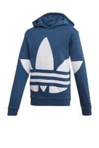 adidas Originals   hoodie donkerblauw/wit, Donkerblauw/wit