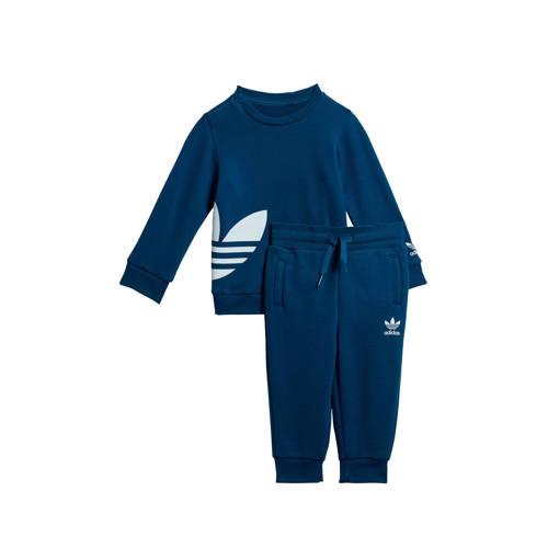 adidas Originals trainingspak donkerblauw
