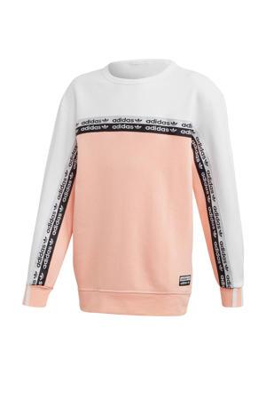 sweater roze/wit