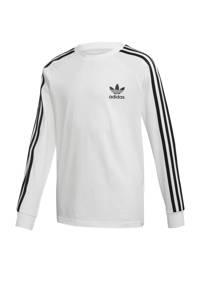 adidas Originals longsleeve wit/zwart, Wit/zwart