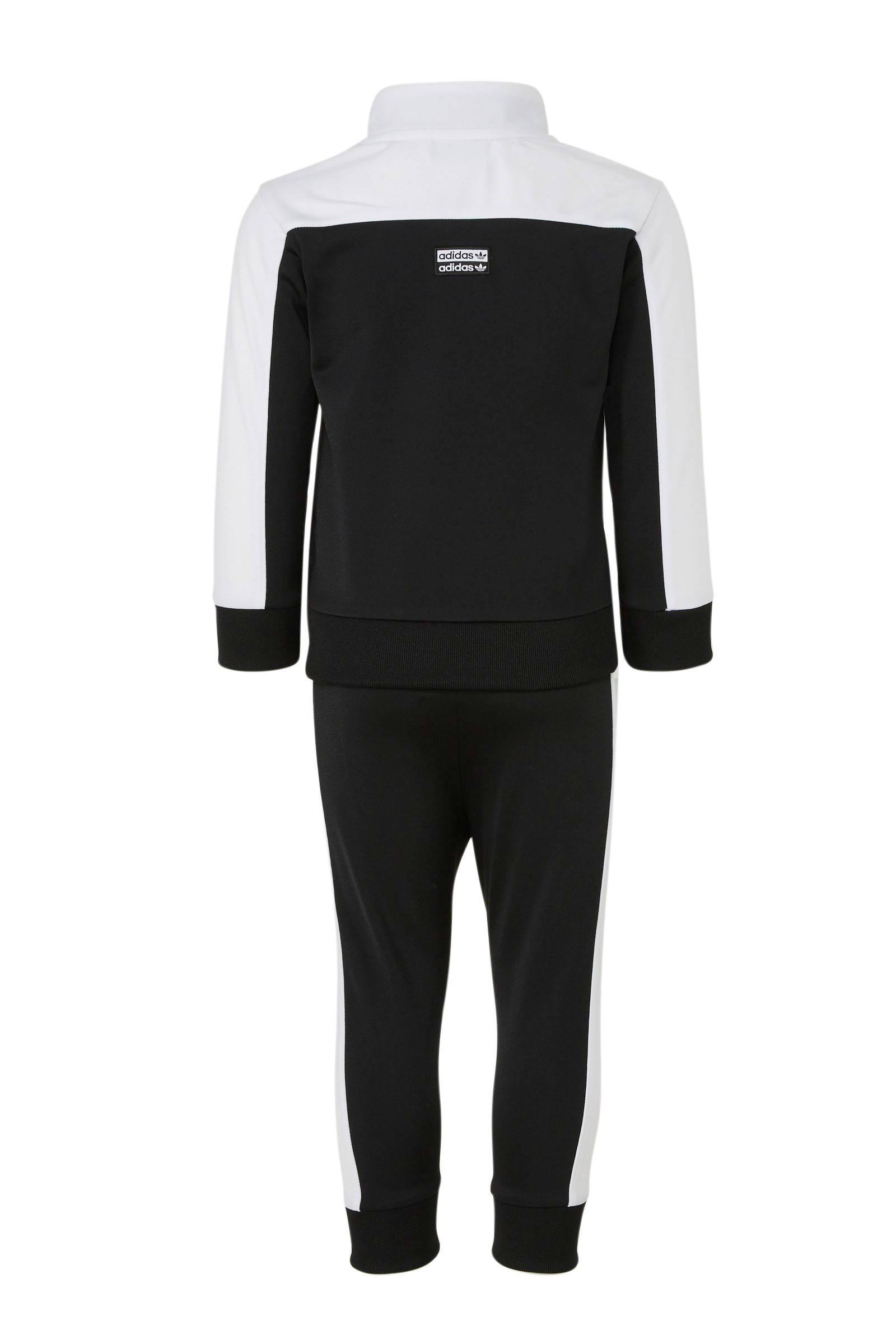 adidas Originals trainingspak zwartwit | wehkamp