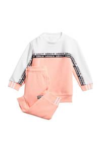 adidas Originals joggingpak lichtroze/wit, Lichtroze/wit