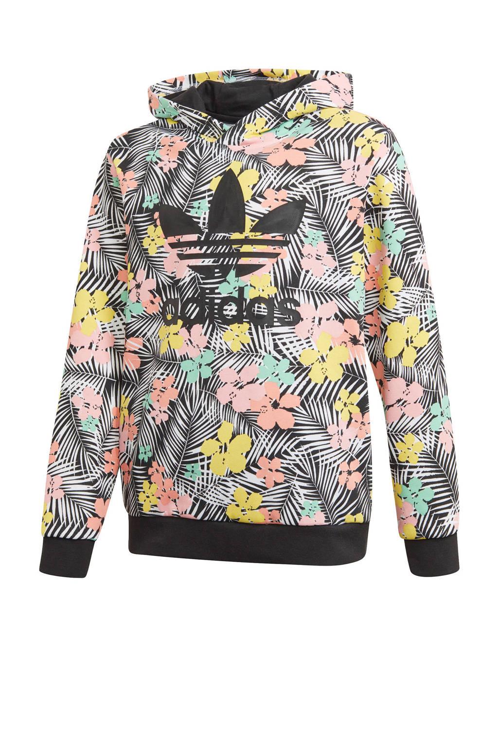 adidas Originals hoodie zwart/multi, Zwart/multi
