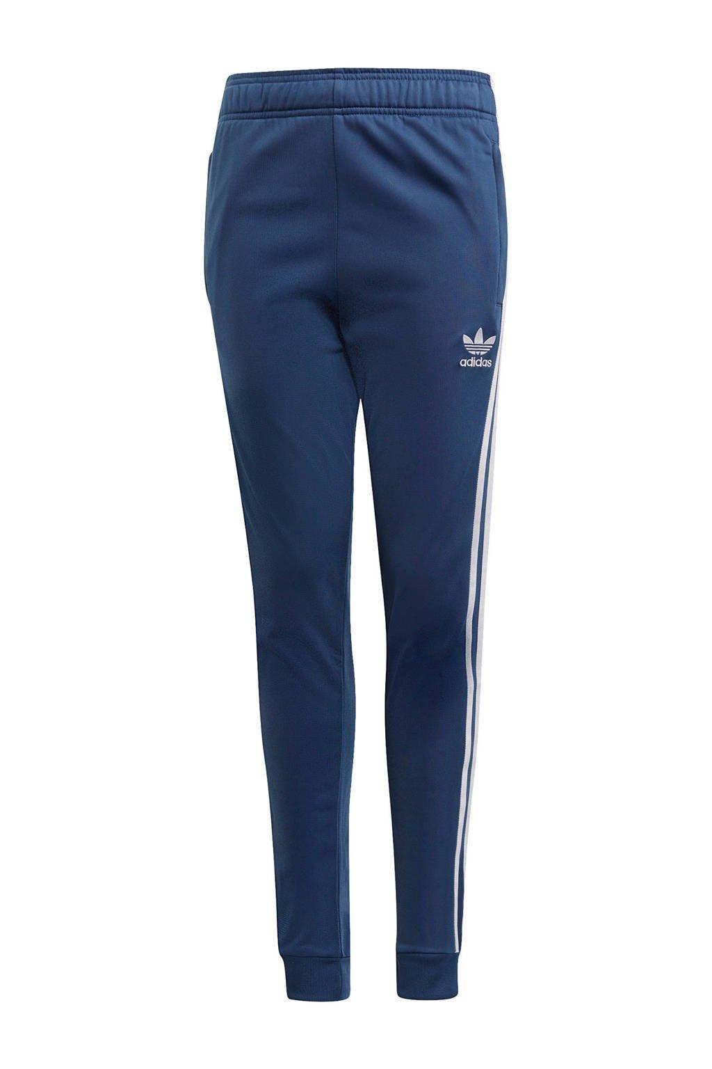 adidas Originals trainingsbroek donkerblauw/wit, Donkerblauw/wit