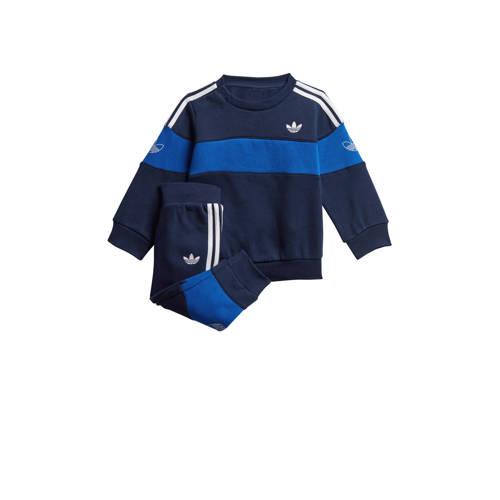 adidas Originals joggingpak donkerblauw-blauw