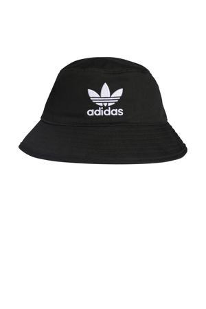 Adicolor hoed zwart/wit