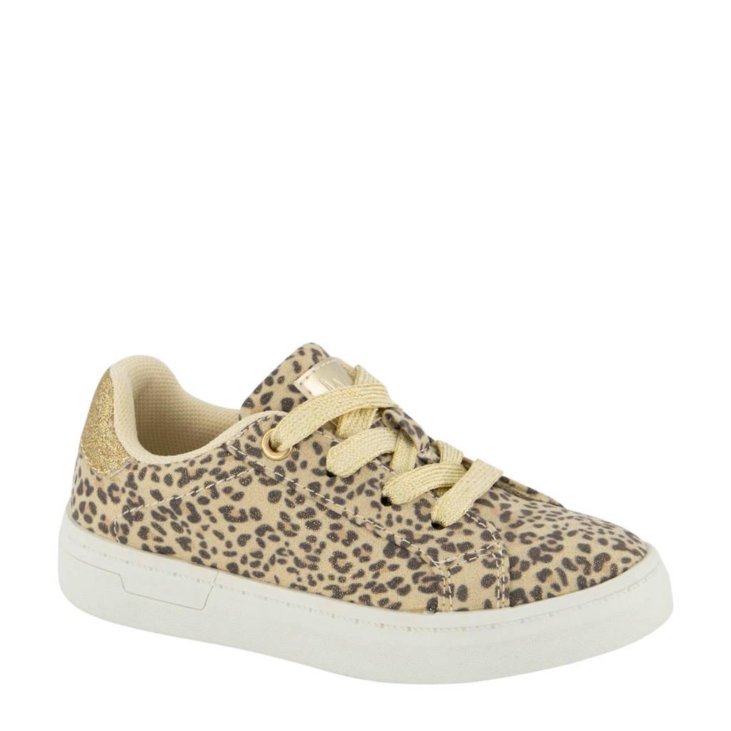Cupcake Couture   sneakers goud/panterprint, Goud/beige