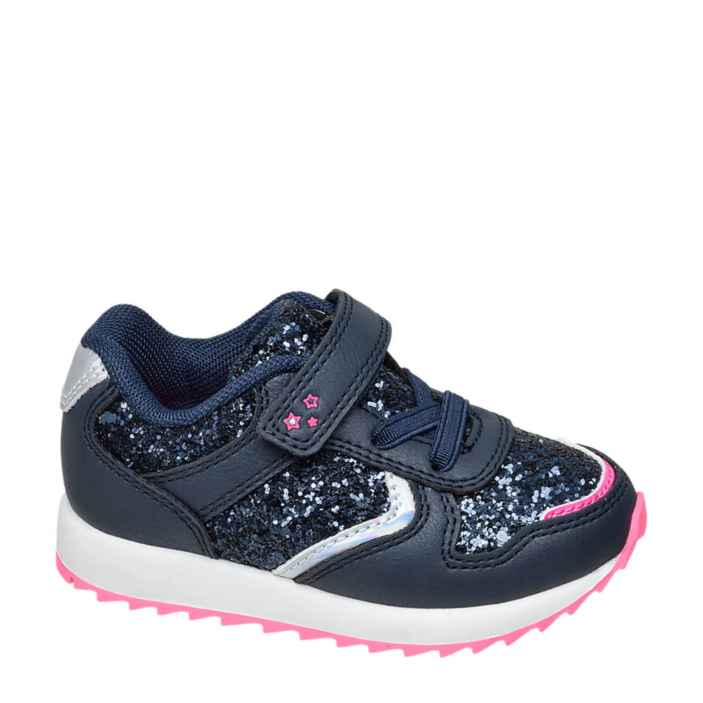 Cupcake Couture   sneakers donkerblauw, Blauw/zilver