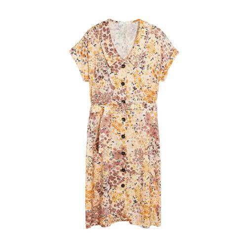 Mango jurk met bloemenprint