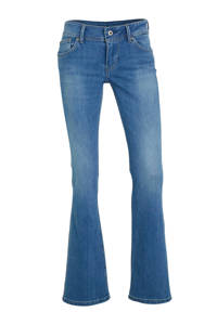 Pepe Jeans New Pimlico flared jeans blauw, Blauw