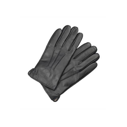 Markberg leren handschoenen zwart