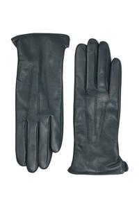 Markberg leren handschoenen groen, Donkergroen